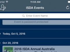 ISDA Conferences 1.11 Screenshot