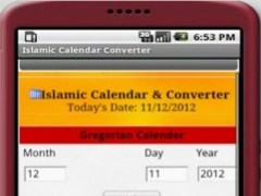 Islamic Calendar Converter 6.0 Screenshot