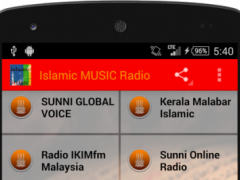 Islamic MUSIC Radio  Screenshot