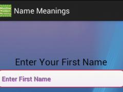 Islamic Namic Meanings 1.0 Screenshot