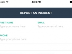 Islamophobia reporting App 1.0.2 Screenshot