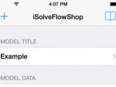 iSolveFlowShop 1.5 Screenshot