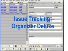 Issue Tracking Organizer Deluxe 4.11 Screenshot