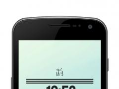 It's On - UCCW Skin 1.0.1 Screenshot