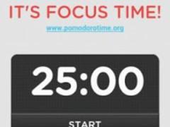 It's Pomodoro Time! 1.4 Screenshot