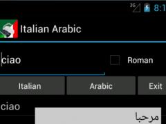 Italian Arabic Dictionary 9.0 Screenshot