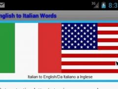 Learn Italian to English 1.2.1 Screenshot