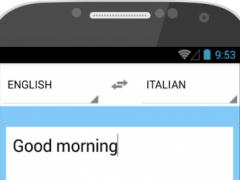 Italian translation 2.1 Screenshot