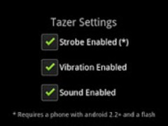 iTazer - ass kicking edition  Screenshot