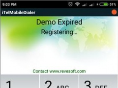 Review Screenshot - Mobile Dialer – VoIP Calling Made Easy