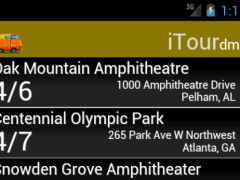 iTour.dmb 2013S Screenshot