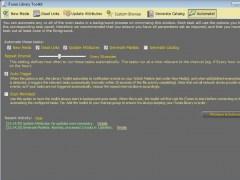 iTunes Library Toolkit 1.1.09 Screenshot