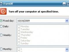 iTurnOff 6.42 Screenshot