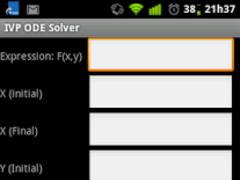 IVP ODE Solver 1.1.1 Screenshot
