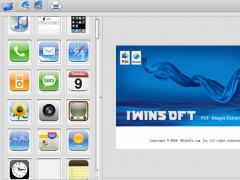 iWinSoft PDF Images Extractor for Mac 1.2.3 Screenshot