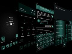 J Ice Mint Theme for CM13&12 1.9.1 Screenshot