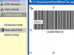 J4L-RBarcode for .NET 2.1 Screenshot
