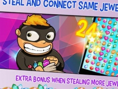 Jack the tiny blitz thief: connect and swipe this Jewel Dash 1.1 Screenshot