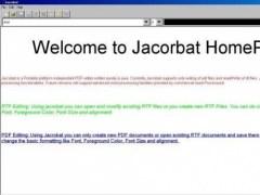 Jacrobat 1.003b Screenshot