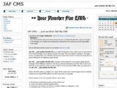 JAF CMS 4.0 Screenshot