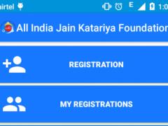 Jain Katariya Foundation India 1.0 Screenshot