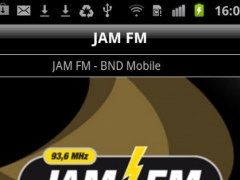 JAM FM 1.2 Screenshot