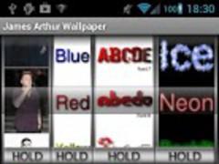 James Arthur Wallpaper Maker 1.0.1 Screenshot