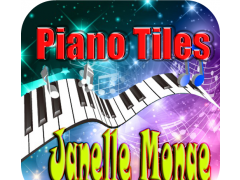 Janelle Monae Piano Tiles 1.5 Screenshot