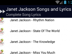 Janet Jackson Nasty Lyrics 1.0 Screenshot