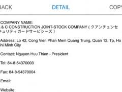 Japanese companies in Viet Nam 1.0 Screenshot