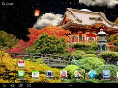 Japanese garden live wallpaper 1.0.2 Screenshot