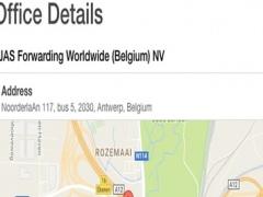JAS Office Locator v2 2.0 Screenshot