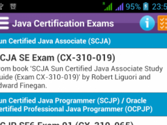 Java Certification Exams 1.0 Screenshot