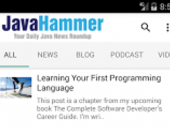 Java Hammer - Java News 4.1 Screenshot