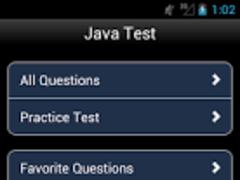Java interview Test Questions 1.0 Screenshot