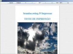 Java Print Reports and Documents  Screenshot