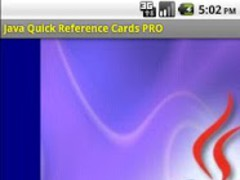 Java Quick Reference Cards PRO 1.3.2b Screenshot