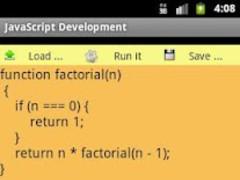 JavaScript Development 1.1 Screenshot