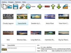 JavaScript Gallery HTML SlideShow 1.0 Screenshot