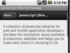 Javascript Libraries Catalog 1.13.17 Screenshot