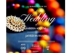 Javed weds sabiha 0.0.1 Screenshot