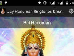 Jay Hanuman Ringtones Dhun 1.0 Screenshot