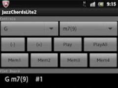 JazzGuitarChordsLite2 1.1 Screenshot