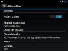 JB ExpandNow 1.0.3 Screenshot