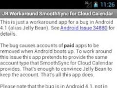 JB Workaround Cloud Calendar 1.1 Screenshot