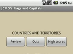 JCMO's Flags and Capitals 1.1 Screenshot