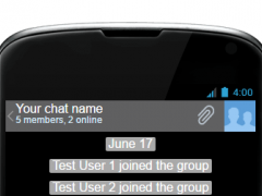 Jelly Bean Texter 0.1 Screenshot