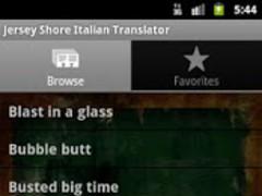 Jersey Shore Italian Dict. 1.0 Screenshot