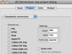 JES Deinterlacer 3.8.4 Screenshot