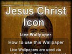 Jesus Christ Icon LWP 1.0 Screenshot